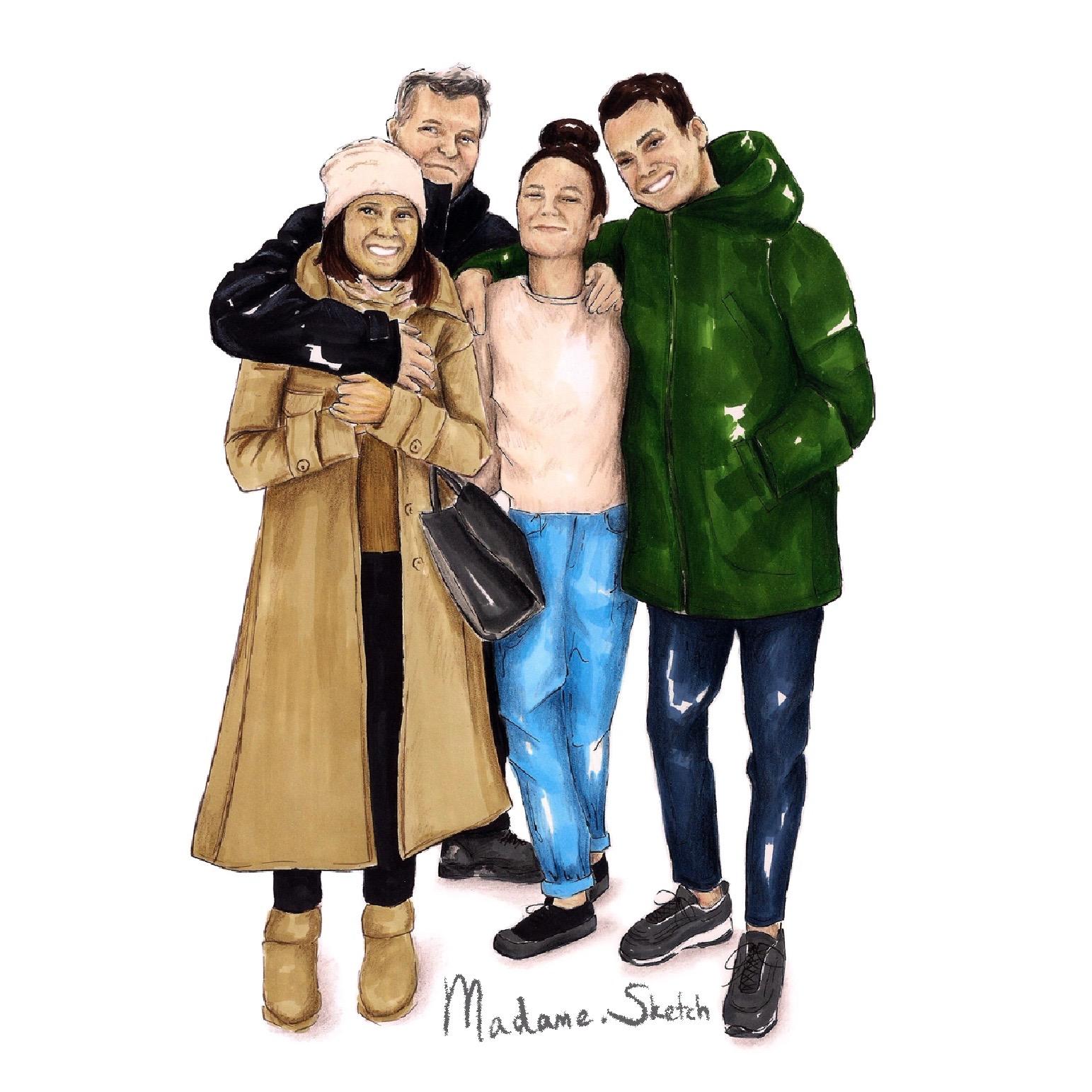 Madame.Sketch.Family