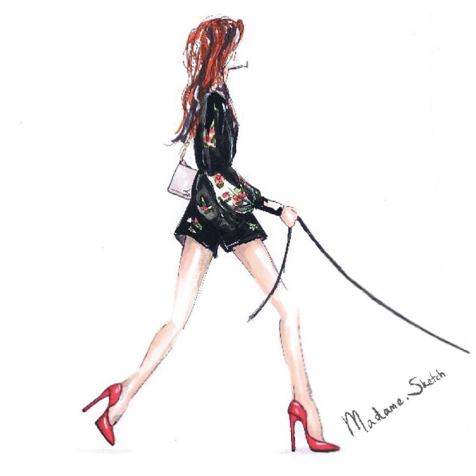 Madame.Sketch.Pet