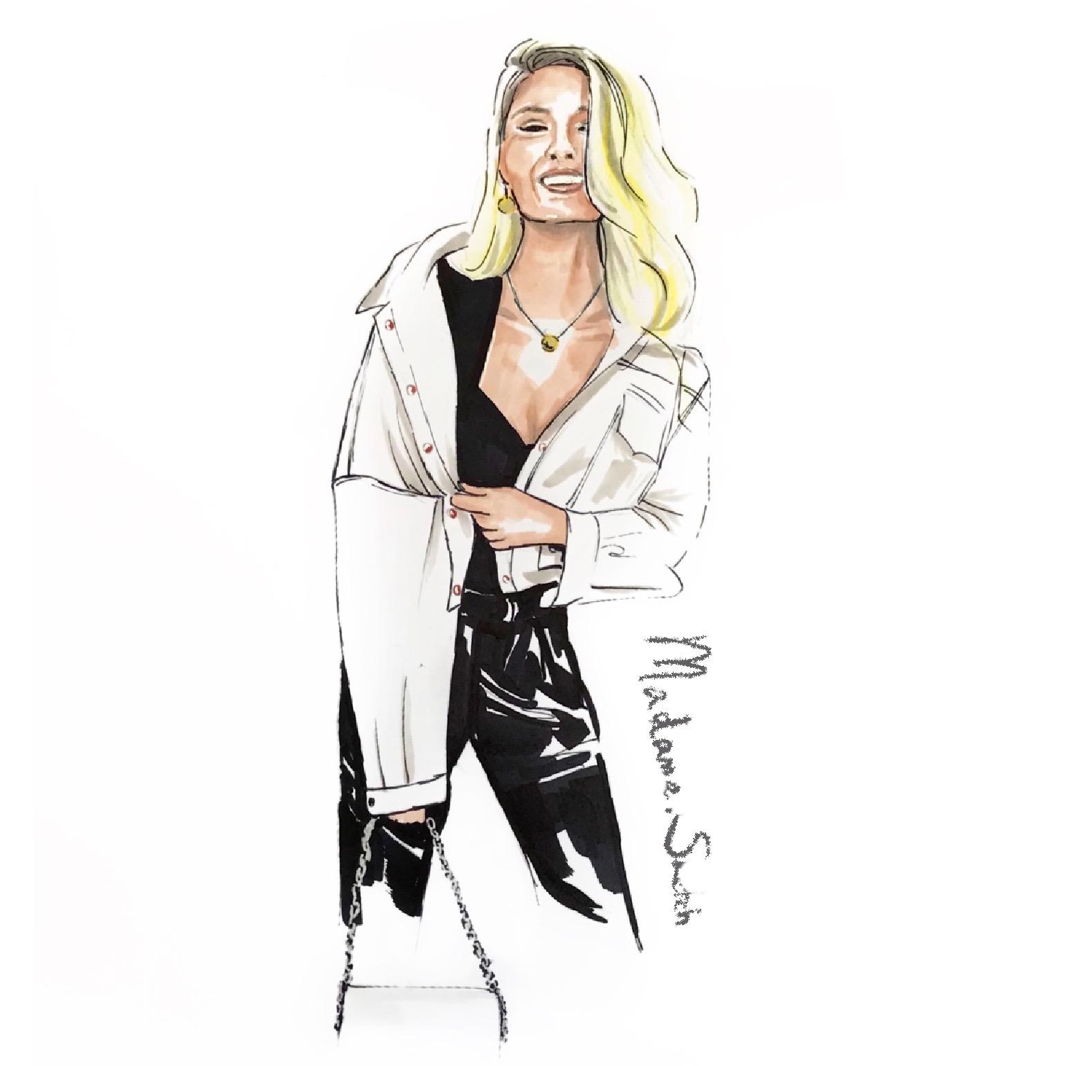 Madame.Sketch.Fashion.Romee