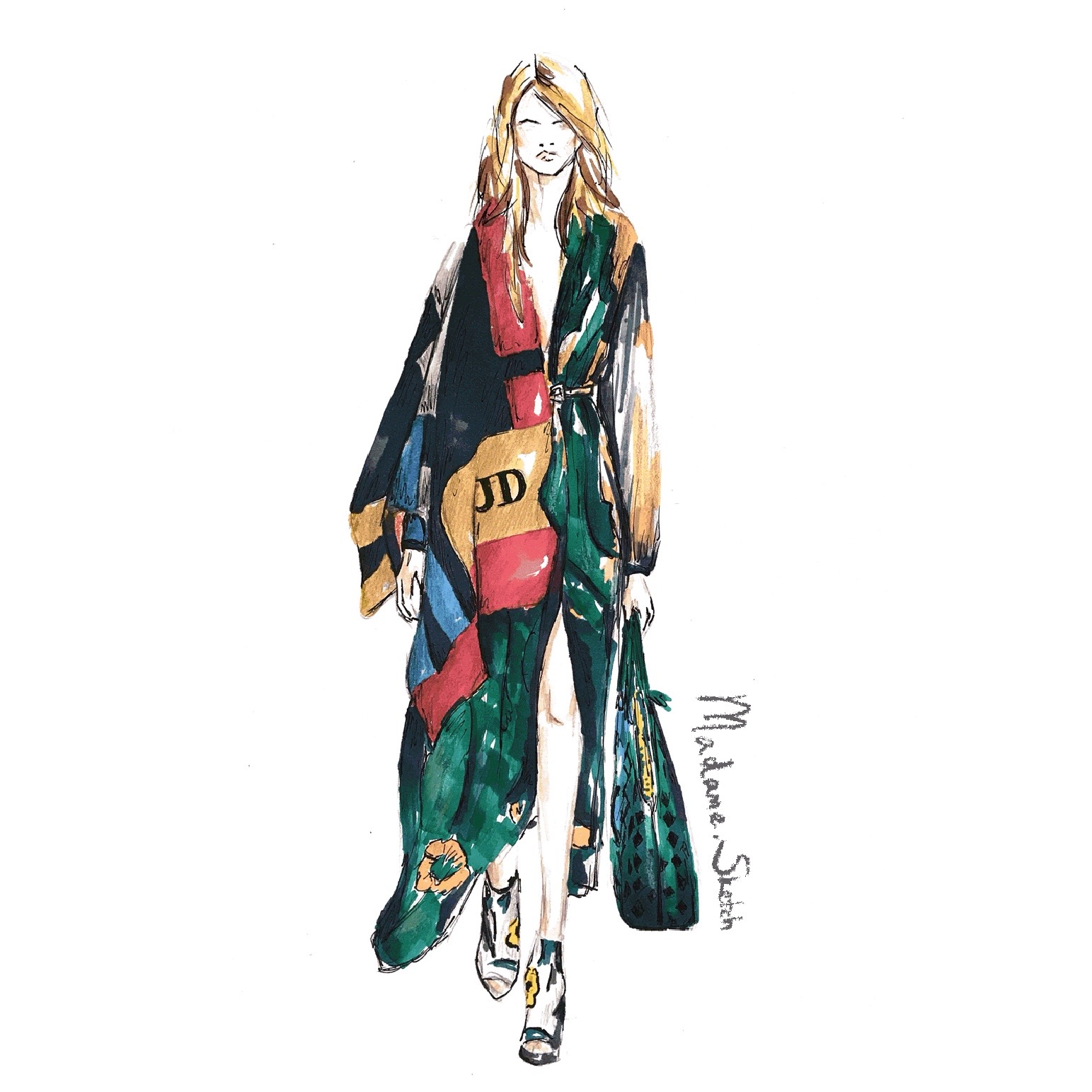Madame.Sketch.Fashion.Burberry
