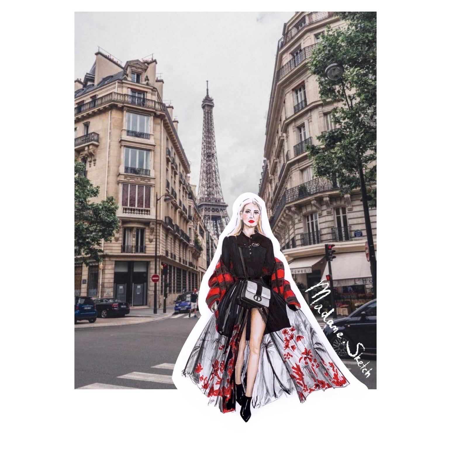 Madame.Sketch.Fashion.Paris
