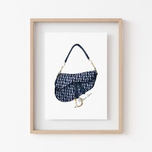 Madame Sketch - Dior Saddle