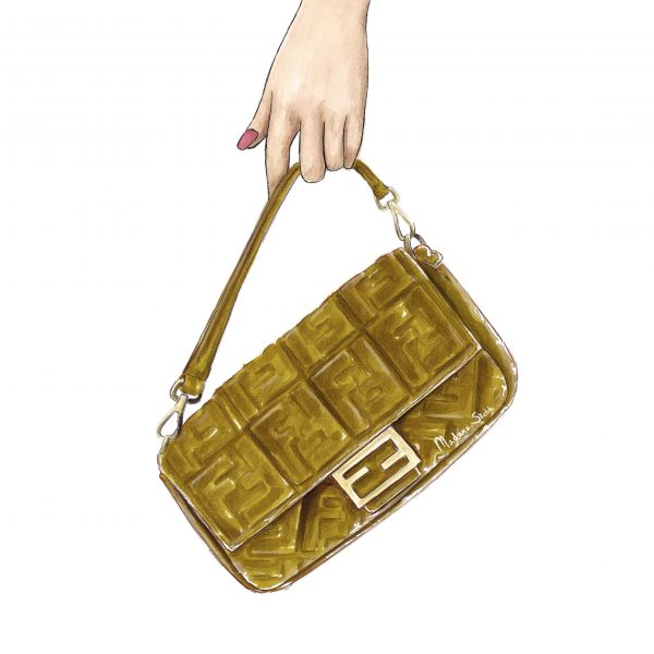 Madame Sketch fendi baguette