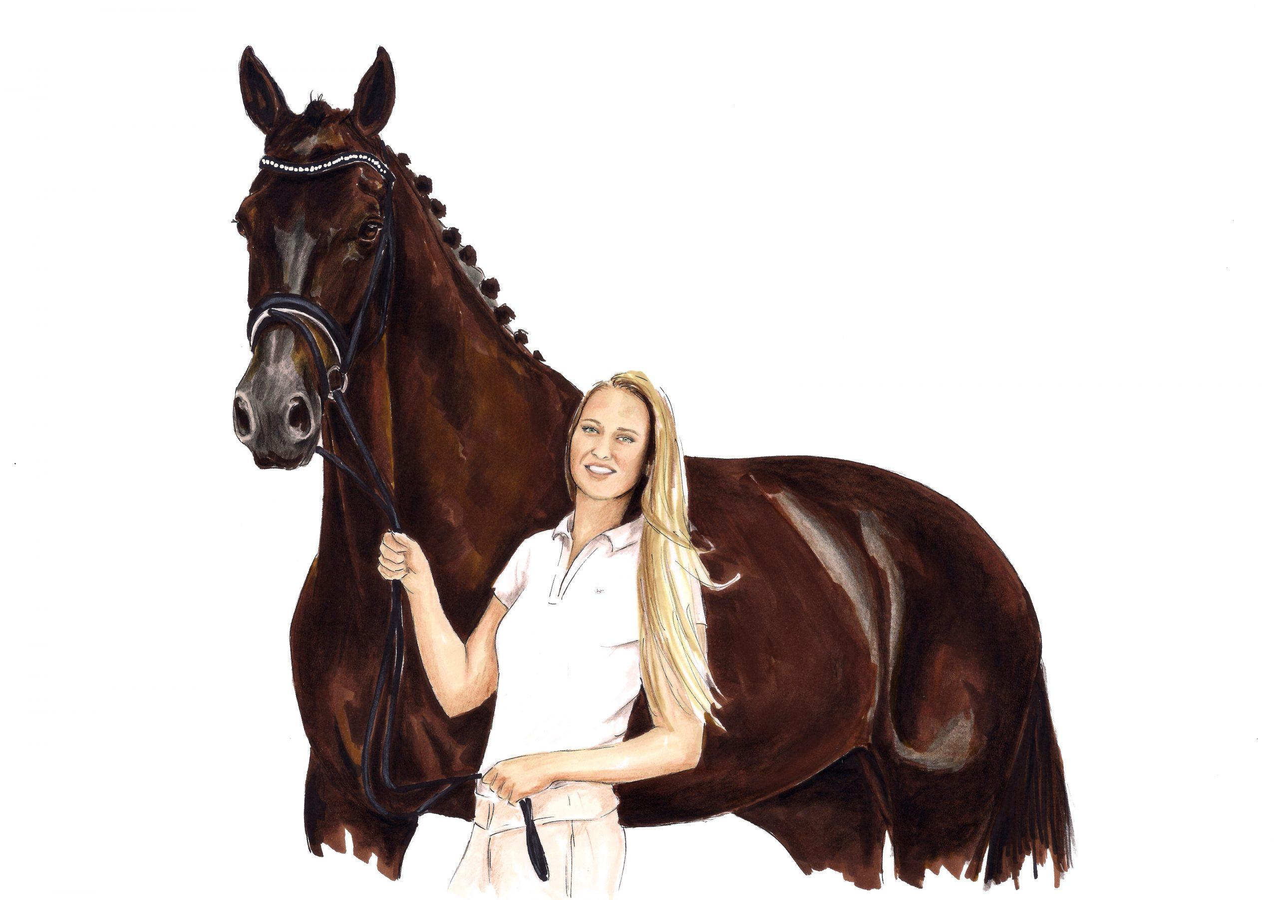 Madame.sketch.horse