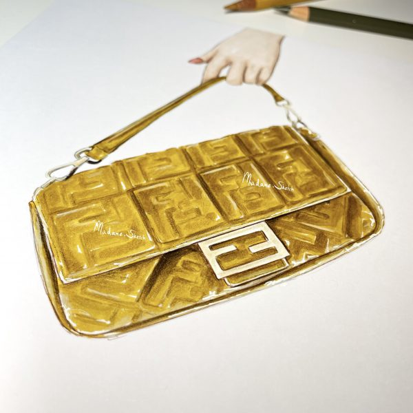 Madame Sketch fendi - 1