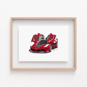 Madame Sketch - Ferrari